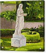 Lady Gandes Garden Acrylic Print