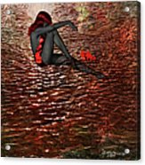 Lady In The Lake Acrylic Print