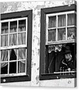 Lady In The Window II Acrylic Print