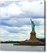 Lady Liberty B Acrylic Print