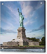 Lady Liberty Acrylic Print by Juli Scalzi
