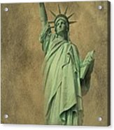 Lady Liberty New York Harbor Acrylic Print