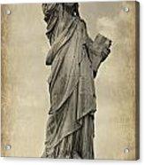 Lady Liberty No 11 Acrylic Print