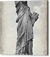 Lady Liberty No 6 Acrylic Print
