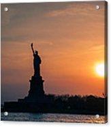 Lady Liberty Acrylic Print by Ray Warren