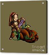 Lady Merewalds Pets Acrylic Print