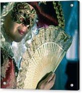Lady Of Renaissance Acrylic Print