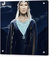 Lady Of The Galadrim Acrylic Print