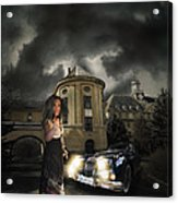 Lady Of The Night Acrylic Print by Nathan Wright