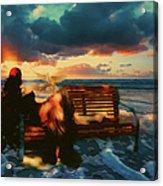 Lady Of The Ocean Acrylic Print