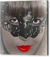 Lady Of The Opera Acrylic Print