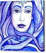 Lady Of The Winter Solstice Acrylic Print