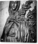 Lady On The Wall Acrylic Print