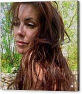 Lady Primavera. Acrylic Print