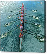 Lady Scullers Acrylic Print