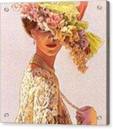 Lady Victoria Victorian Elegance Acrylic Print