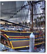 Lady Washington Acrylic Print