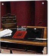 Lady Windermere's Fan Rehearsal No 4 Acrylic Print