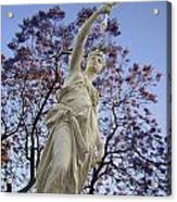 Lady With The Light Acrylic Print