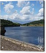 Ladybower Dam Acrylic Print