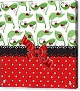Ladybug Delight  Acrylic Print