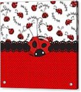 Ladybug Sweet Surprises  Acrylic Print