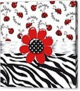 Ladybug Wild Thing Acrylic Print