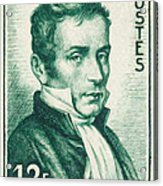 Laennec 1781 1826 Stamp Painting By Lanjee Chee
