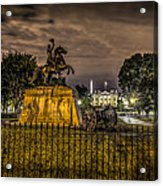 Lafayette Park Acrylic Print