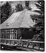 Laggan Station I Acrylic Print