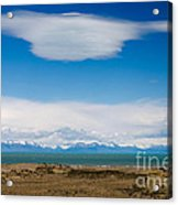 Lago Argentino In Patagonia  Acrylic Print