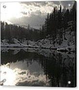 Lago Delle Streghe Acrylic Print