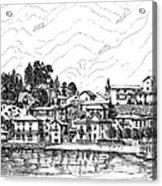 Lago Di Maggiore - Mergozzo Acrylic Print