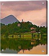 Lago Di Muzzano Mystique Acrylic Print