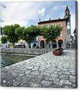 Lago Maggiore Ascona   Acrylic Print
