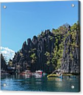 Lagoon, Coron, Palawan, Phillippines Acrylic Print