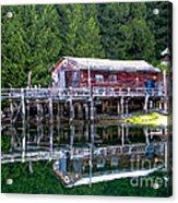 Lagoon Cove Acrylic Print