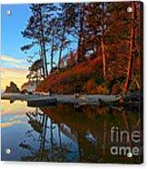 Lagoon Sunrise 1 Acrylic Print