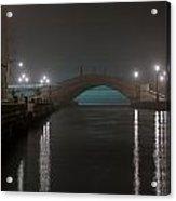Lagoon's Light Show Acrylic Print
