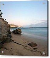 Laguna Beach Coast Acrylic Print
