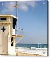 Laguna Beach Lifeguard Tower Acrylic Print
