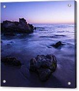 Laguna Beach Sunset In Ca Acrylic Print
