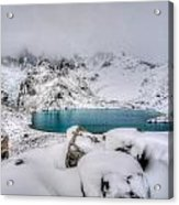 Laguna De Los Tres Acrylic Print