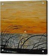 Laguna Madre Sunset Acrylic Print