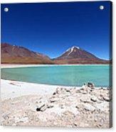Laguna Verde Bolivia Acrylic Print