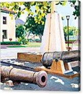 Lahaina 1812 Cannons Acrylic Print