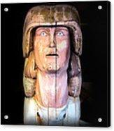 Lahaina Statue 1 Acrylic Print