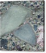 Lahar Deposit Rock Sample Acrylic Print