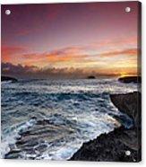 Laie Point Sunrise Acrylic Print