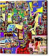 Lail Haseder Gimel 5 Acrylic Print